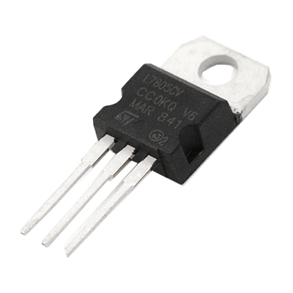 7805 5v Voltage Regulator Ic Invent Electronics