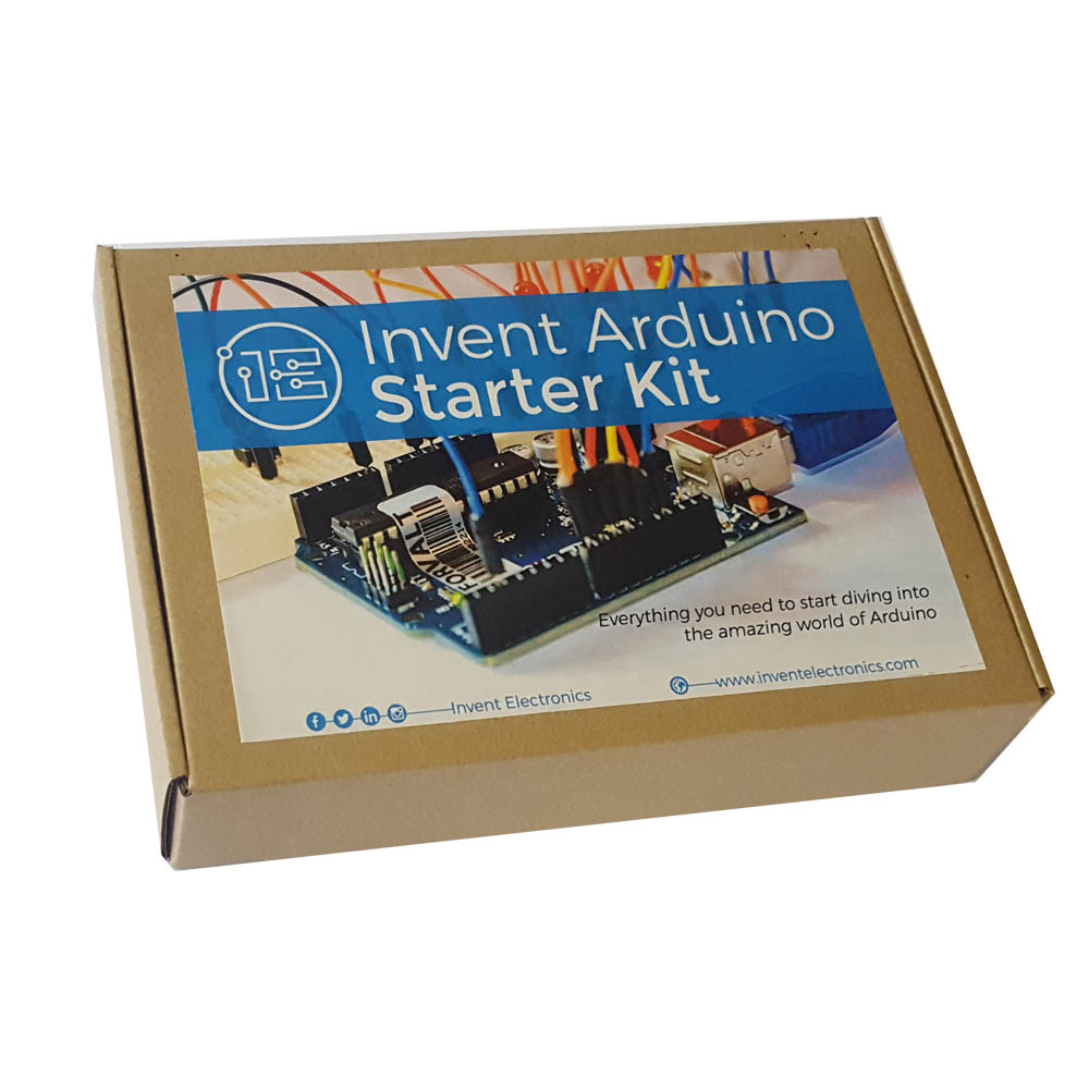 Invent Arduino Starter Kit Electronics Electronic Circuit Kits For Schools