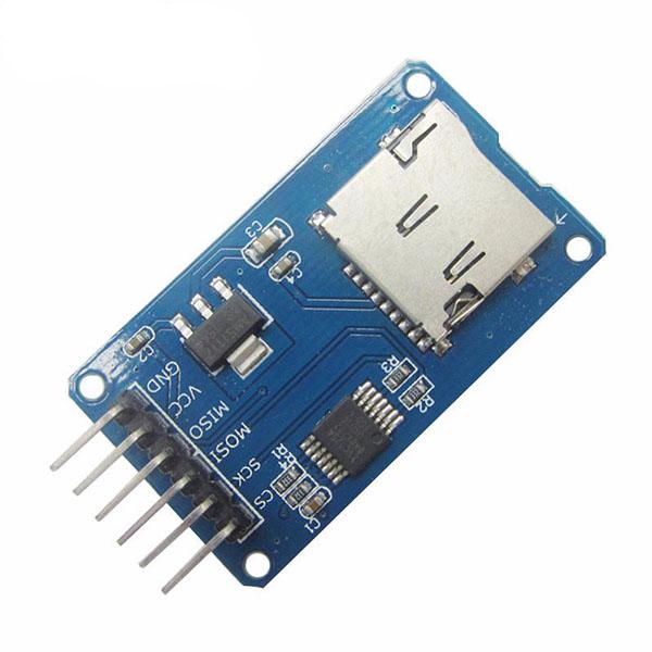 Arduino microsd card module breakout board invent