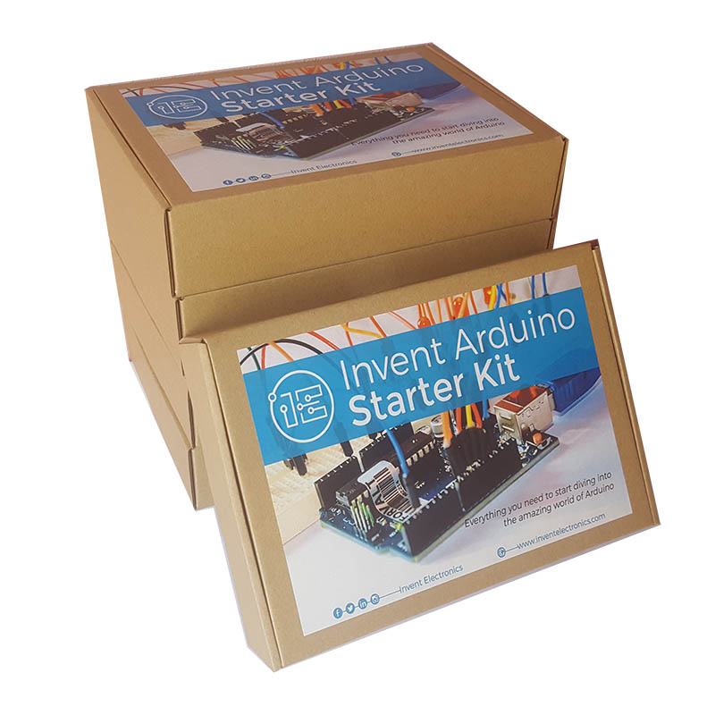 Invent arduino starter kit lab set electronics